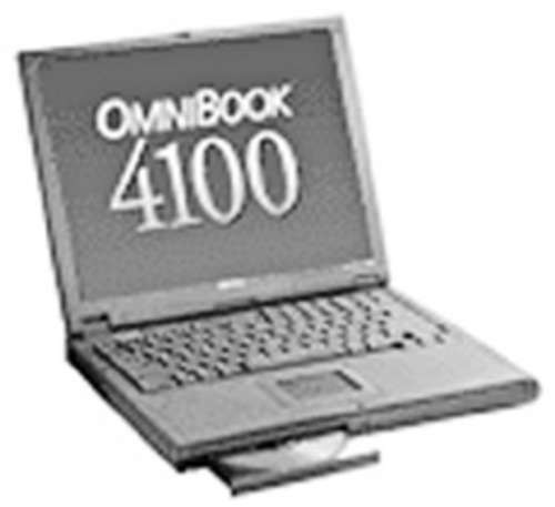 Product picture HP OmniBook 4100 4500 Service manual